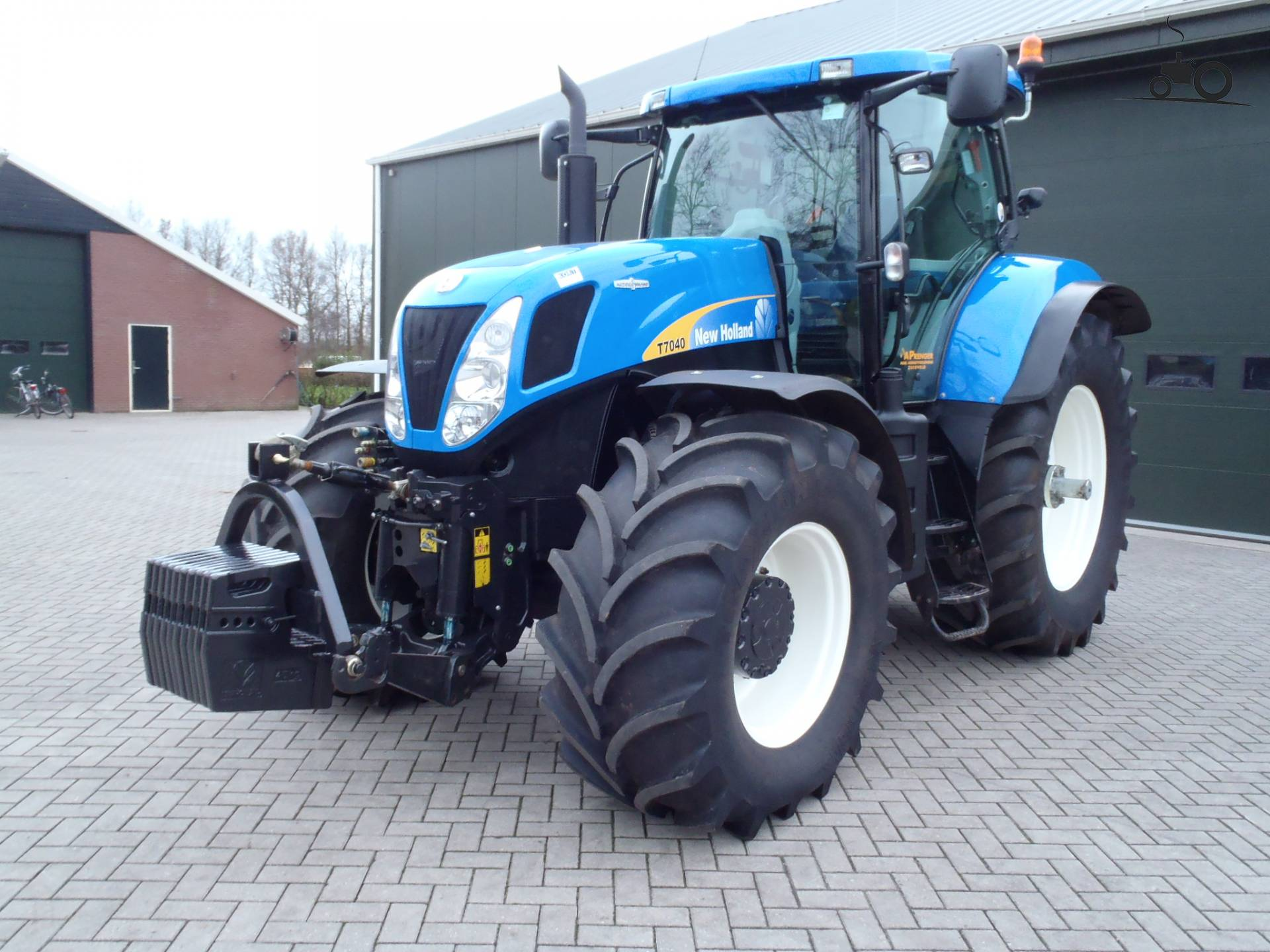 Трактор New Holland T7040 (2018 г.в) с наработкой г.Орел