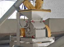 Дробилка молотковая ДМ-5 в составе комбикормового цеха